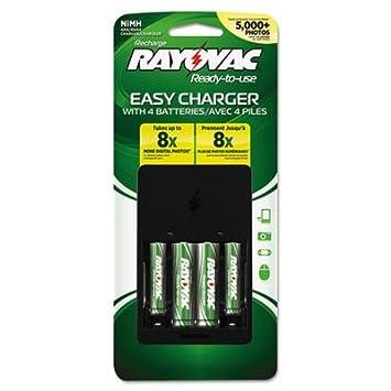 Amazon.com: rayps1324b – ray-o-vac four-position Cargador de ...