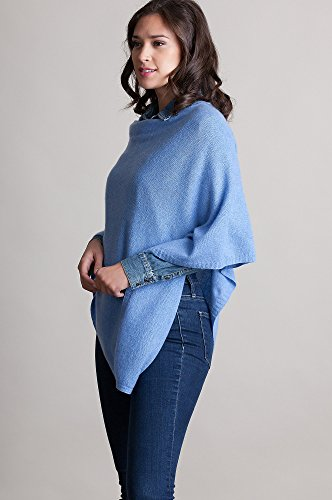 Patricia Fine Cashmere Poncho by Overland Sheepskin Co (Image #3)