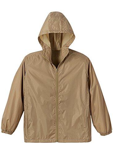 Carol Wright Gifts Lightweight Rain Jacket, Khaki, Size Extra Large - Featherweight Eyeglasses