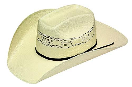 Bangora Straw - Twister Men's Bangora Straw Cowboy Hat Natural 7 5/8