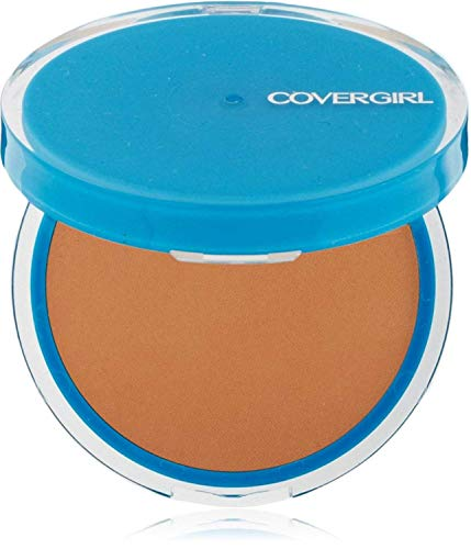 CoverGirl Clean Oil Control Compact Pressed Powder, Soft Honey 555 0.35 oz Pack of 9
