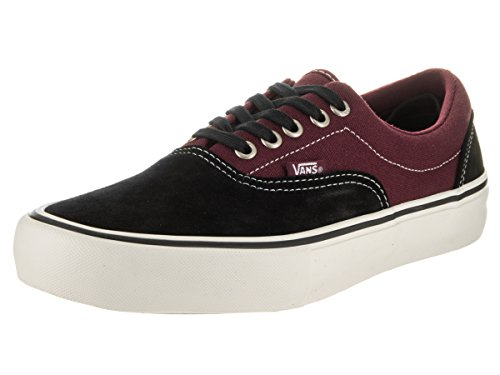 Vans Mens Era Pro Pattino Da Skate Nero / Porto