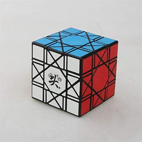 Dayan Black 6 axis 8 Rank Bagua Speed Competition Puzzle Magic Cube for Challenge