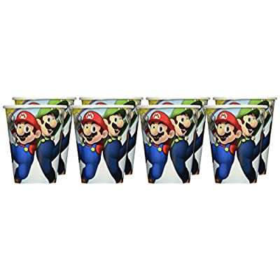 Super Mario Brothers Cups, 9 oz., Party Favor: Toys & Games