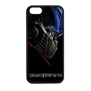 iPhone 5 Case, [Transformers] iPhone 5,5s Case Custom Durable Case Cover for iPhone5 TPU case(Laser Technology)
