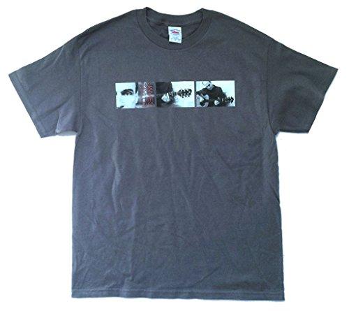 James Taylor 3 Pictures October Road 2004 Tour Grey T Shirt Soft (M)