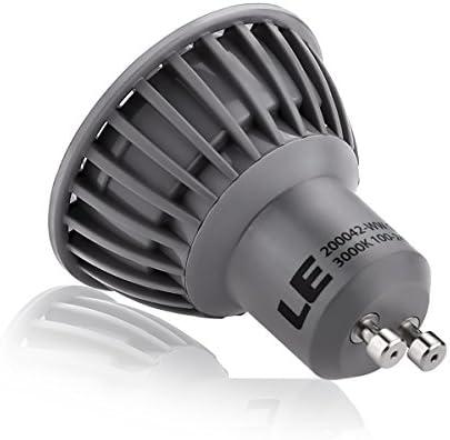 540 LM Gu10 DEL Lampe 6,2 W = 45 W Blanc Bon état 100 ° 3-Niveaux niveaux variateur 100/% 50/% 20/%