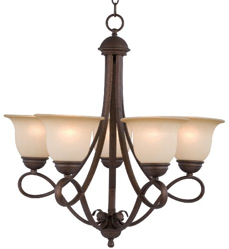 Hardware House 10-0717 Bennington Chandelier, Antique Bronze