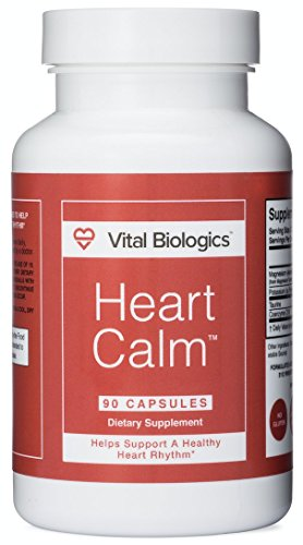 Heart Calm- Support and Maintain a Healthy Heart Rhythm- A Natural, Fast-Acting Formula. 90 Capsules.