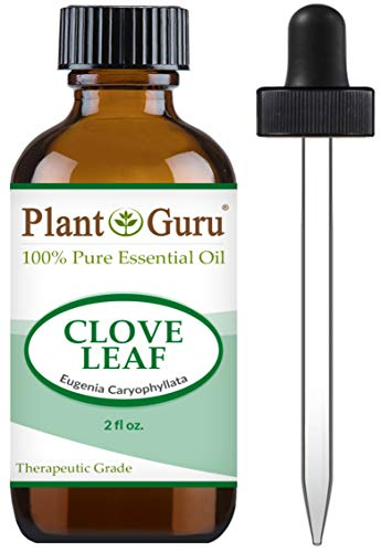 Clove Leaf Essential Oil 2 oz 100% Pure Undiluted Therapeutic Grade.