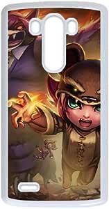 LG G3 teléfono móvil funda tipo libro para League of