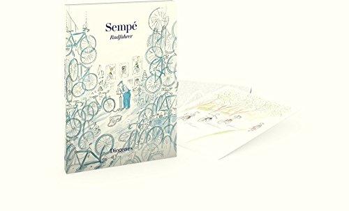 Radfahrer (Postkartenbuch): 20 Postkarten Gebundenes Buch – 26. September 2018 Jean-Jacques Sempé Diogenes 3257889909 Sonstiges (Adreßbücher