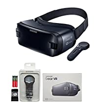 Samsung Gear VR W/Controller & MKK Stylus - For Galaxy S7,S7edge,S6,S6Edge,Note 5,S6Edge+ (Retail Packing)