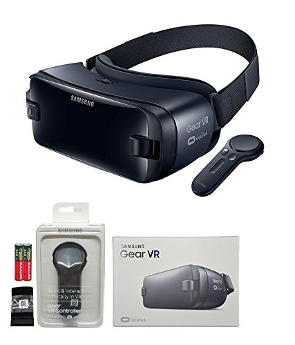 Samsung Galaxy VR - 2016 Model W/Controller MKK Stylus - (US Version with Warranty -Retail Pack ) For S7,S7 Edge,Note5,S6,S6 edge,Edge+ Samsung Headset Adapter