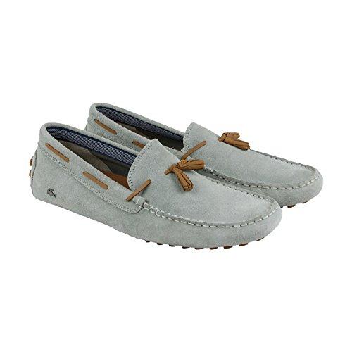 Lacoste Men's Cncrstssl7 Slip-On Loafer, Grey, 9 M US