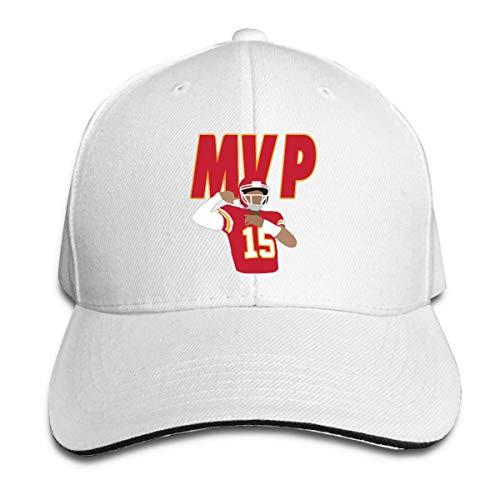 PATRICK THOMPSON Veta Megica Adjustable Baseball Cap Kansas City Mahomes MVP Cool Snapback Hats White]()