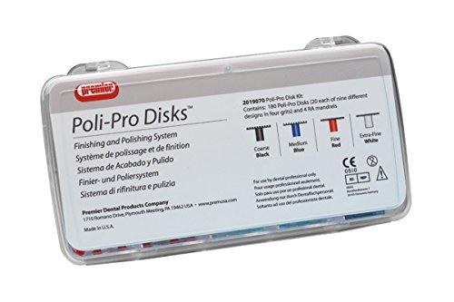 Premier PR-2019072 Poli-Pro Disc Refill, Coarse 5/16'' Up (Pack of 40)