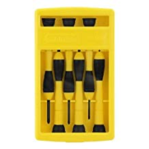 STANLEY 66-052 Precision Screwdriver Set, 6-Piece