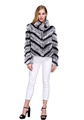 Chinchilla Fur Coat - 4
