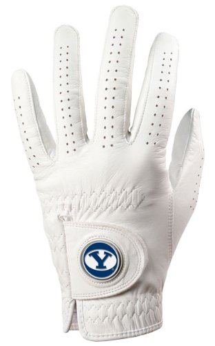 BYU Cougars Golf Glove & Ball Marker – Left Hand – Medium / Large   B00BFKT9LA