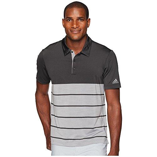 (アディダス) adidas Golf メンズ ゴルフ トップス Ultimate Heather Stripe Polo [並行輸入品]