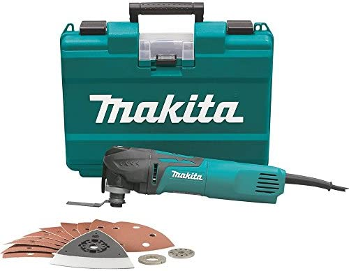 Makita TM3010CX1 Multi-Tool Kit, Tool-Less Blade Change