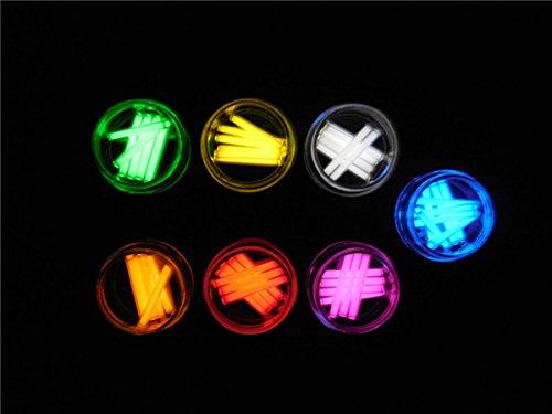 1pcs Trit Vials Tritium Multicolor Self-luminous 15-Years 3x22.5mm (Color Yellow) by KAMOLTECH (Image #7)