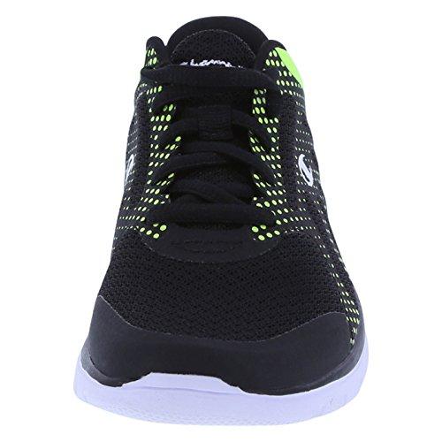 Champion Boy del gusto Runner Black Lime Dots