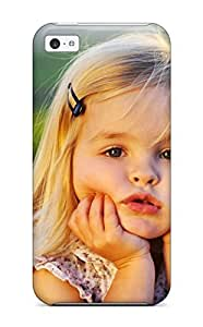 New Arrival Case Cover With EIyNCQN9952XzsJJ Design For Iphone 5c- Cute Little Baby Girl by mcsharks