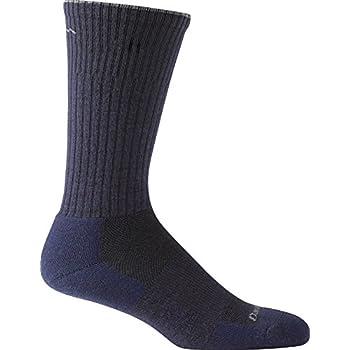 Image of Athletic Socks Darn Tough Standard Issue Mid Calf Light Sock, Navy, Medium / 8-9.5