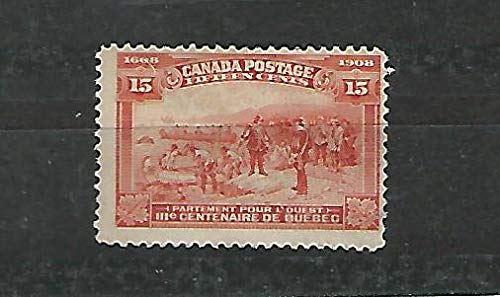 Canada, Postage Stamp, 102 Mint Heavy Hinged, 1908, JFZ