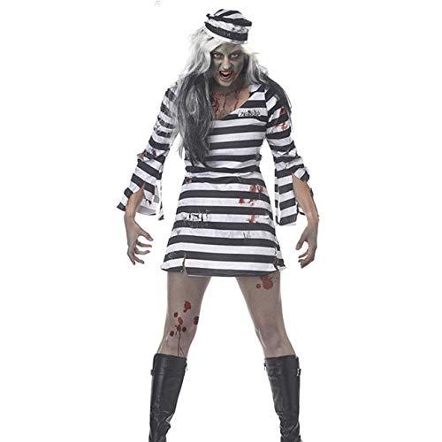 AQTOPS Halloween Prisoner Costumes Women]()