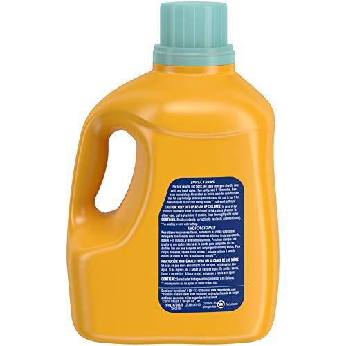 Arm & Hammer Sensitive Skin Plus Fresh Scent Liquid Laundry Detergent, 100 Loads