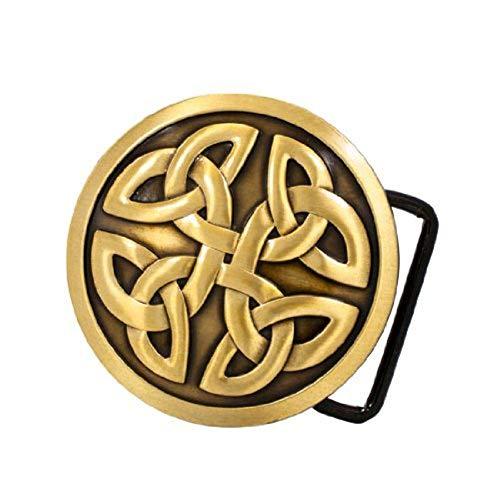 - Buckle Rage Mens Celtic Cross Knot Mystic Belt Buckle Bronze
