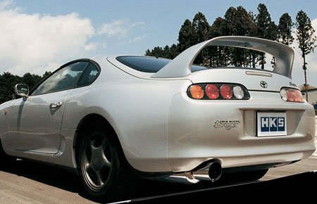 HKS 3302-EX077 [ Lexus Is300(2001-2005) Dragger Drager II Exhaust Rear Section ONLY