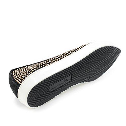 Tosca EU 38 Negro Shoes Blu Bailarinas wFqP6p