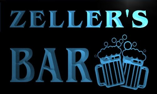 w003286-b-zellers-name-home-bar-pub-beer-mugs-cheers-neon-light-sign