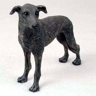 Greyhound Dog Figurine - Brindle by Conversation Concepts