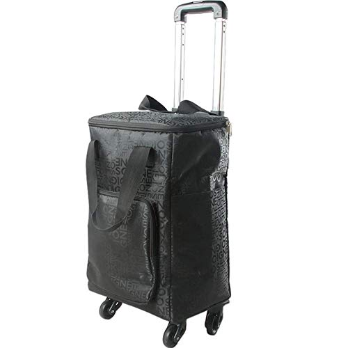 LHUGI Suitcase Travel Trolley Case Cabin Approved Trolley Backpack Fashion Business Trip Wheeled Backpack Rolling Carry-on Luggage Travel Duffel - Case Cabin Trolley