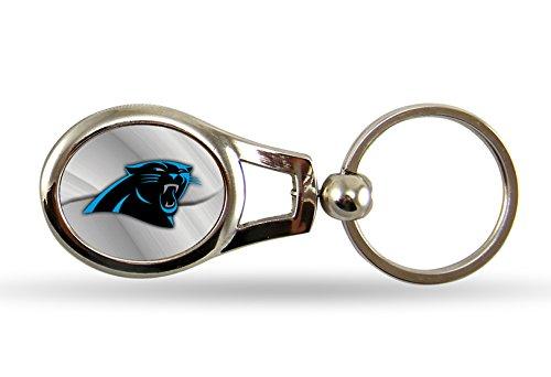 NFL Carolina Panthers Oval Keychain (Carolina Panthers Keychain)