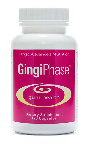 GingiPhase Advanced Dental Supplement: All-Natural Herbal Periodontal Support Formula for Healthy Gums, Teeth, and Jaw Circulation