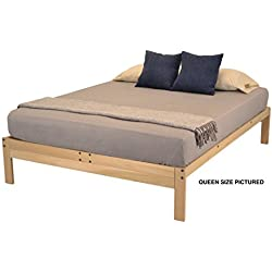 KD Frames Nomad Plus Platform Bed - Twin