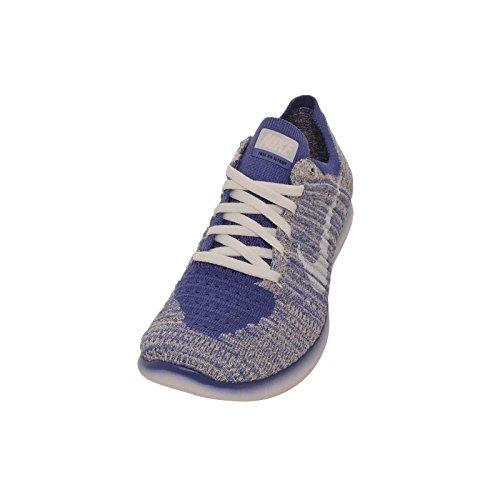 Nike Free RN Flyknit MTLC (GS) Lila