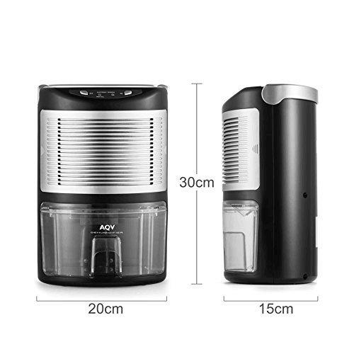 [해외]제습기, AQV 휴대용 제습기 전력 효율 제습기 홈 탈착식 그릴로 수분 제습기 1000ml 수조 응용/Dehumidifier, AQV Portable Dehumidifier Power Efficiency Dehumid