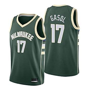 ES Camiseta PAU Gasol Milwaukee Bucks Verde,Camiseta Swingman ...