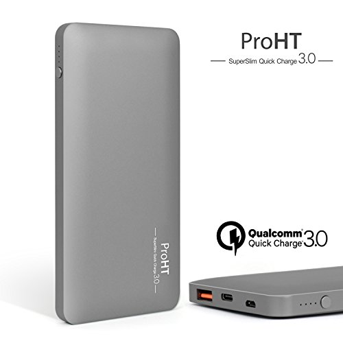10000mAh Qualcomm 03247A Charger Grey ProHT