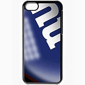 Personalized iPhone 5 5s Cell phone Case/Cover Skin 1227 new york giants Black