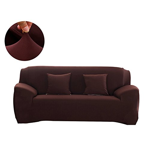FORCHEER Couch Covers Universal Sofa Cover Polyester Elastic Sofa Slipcovers for Living Room (Sofa, Coffee)
