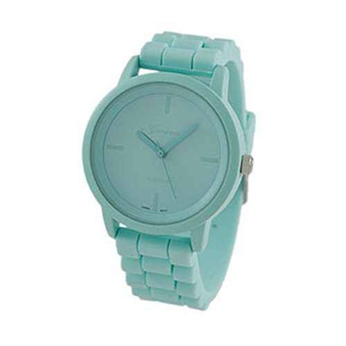 Geneva Platinum Womens Watch - Geneva Platinum Women's Mint Watch 9886