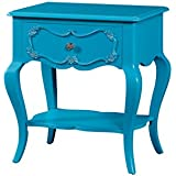 Acme Furniture 30511 Edalene Nightstand, Turquoise